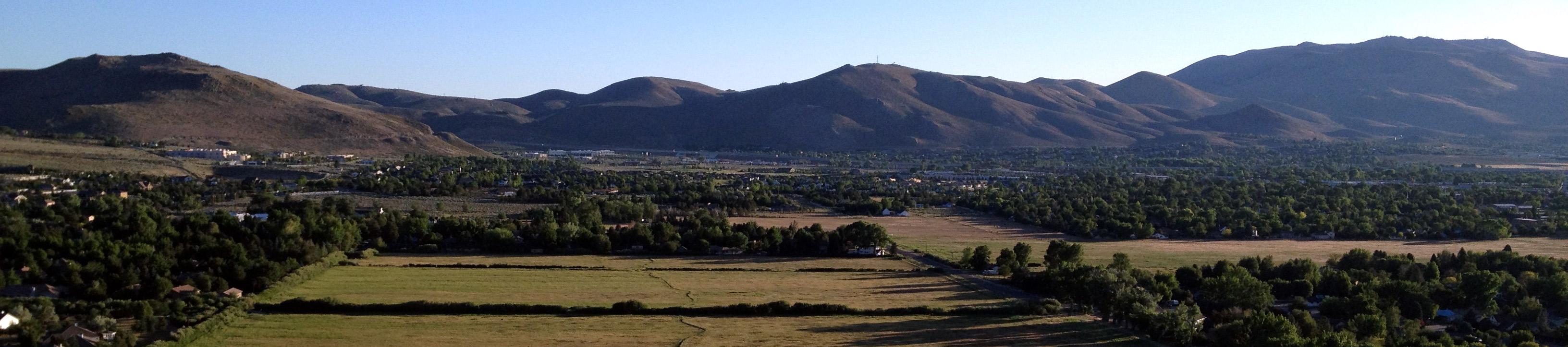 North Carson City Mountains