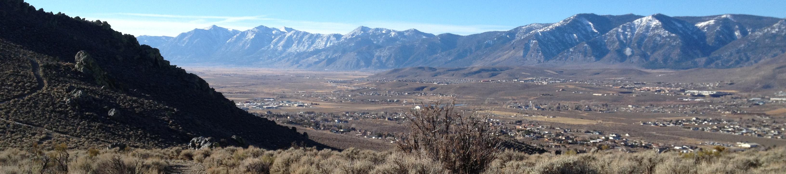 South Carson City Mountains
