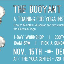 Bouyant Pelvis-Yoga Instructor Training