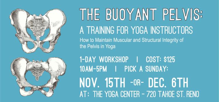 Yoga Instructor Training: The Buoyant Pelvis