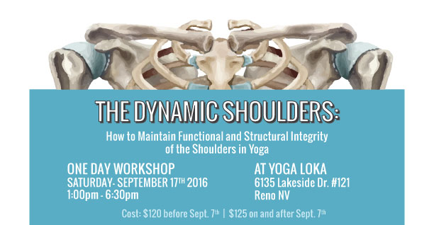 Dynamic Shoulders Workshop