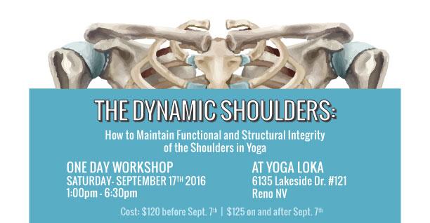 Dynamic Shoulders Workshop