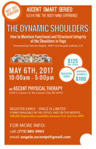 SMART Series, April 2017 - Dynamic Shoulders