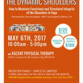 SMART Series, MAY 2017 - Dynamic Shoulders